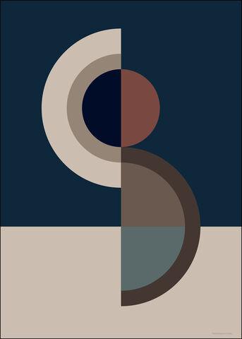 Figure Shape 10 Blue 5070