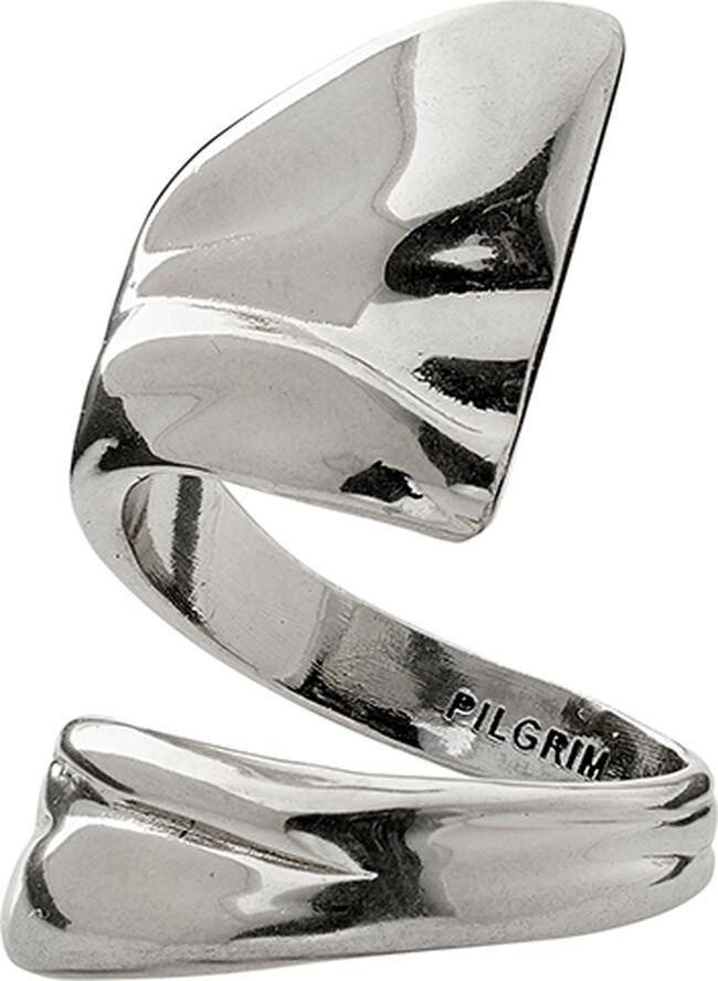 Ring, water, sølvbelagt