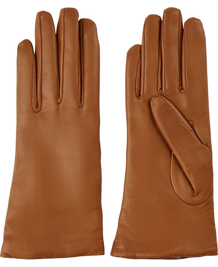 Dame læderhandske