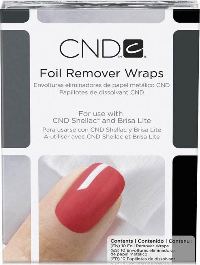 Remover Wraps Foil, CND NEW