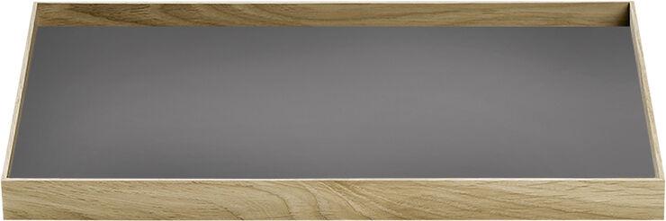 FRAME Tray Medium Oak Grey