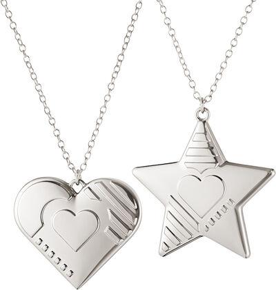 CC 2019 ORNAMENT HEART & STAR PALLADIUM