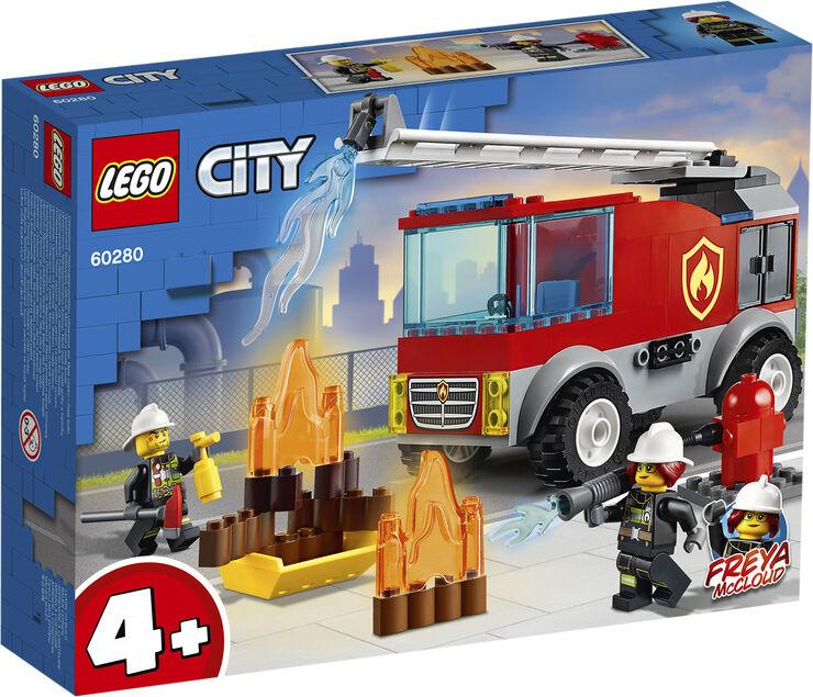 Brandvæsnets stigevogn