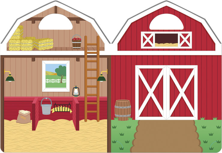 Reusable Puffy Stickers - Farm
