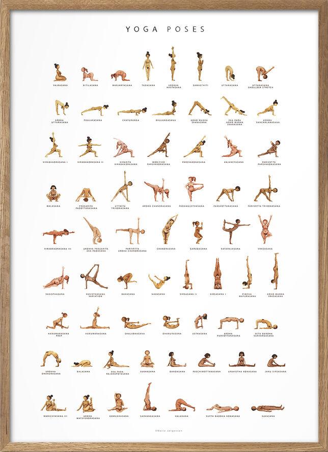 Yoga Prints - Yoga Poses