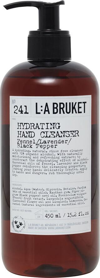 242 Återfuktande Handrengring Fnkl/Lavendel/Svartpeppar 450