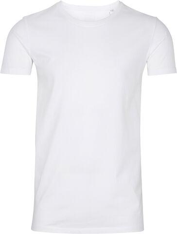 Rundhalset stretchy t-shirt