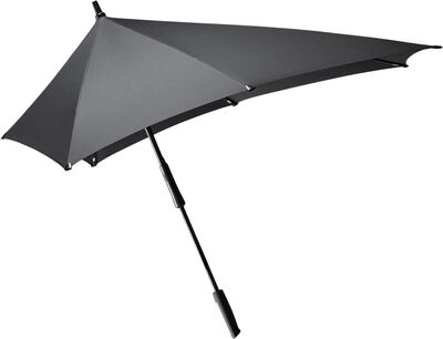 Senz° XXL stick storm umbrella pure black