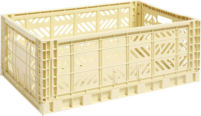 Colour Crate L Light Yellow