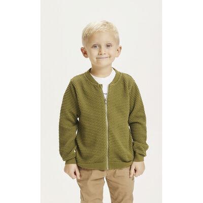 FENNEL bobble knit cardigan - GOTS/Vegan
