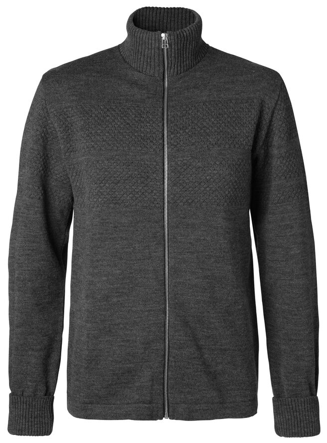 100% Wool Klemens Zip cardigan