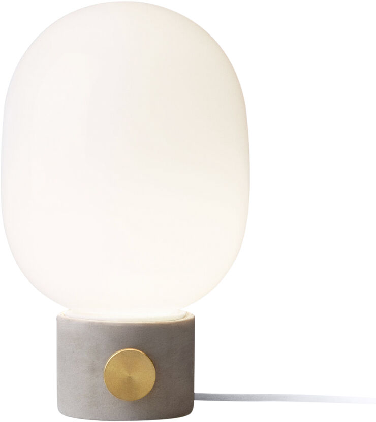 JWDA Concrete Lamp, Light Grey/Brass