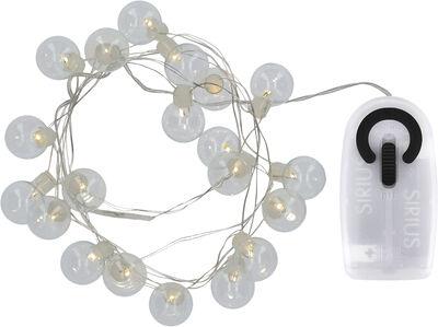 IO, Clear/silver, 1,9m+30cm, w/Sensor