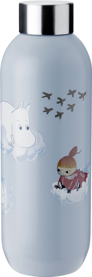 Keep Cool drikkeflaske, 0,75 l. -  cloud - Moomin