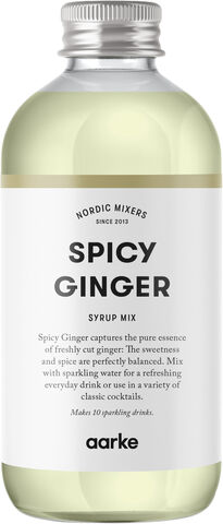 Spicy Ginger Syrup, 330 ml