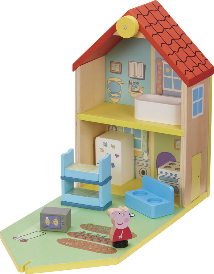 Peppa's Wood Play Family Home