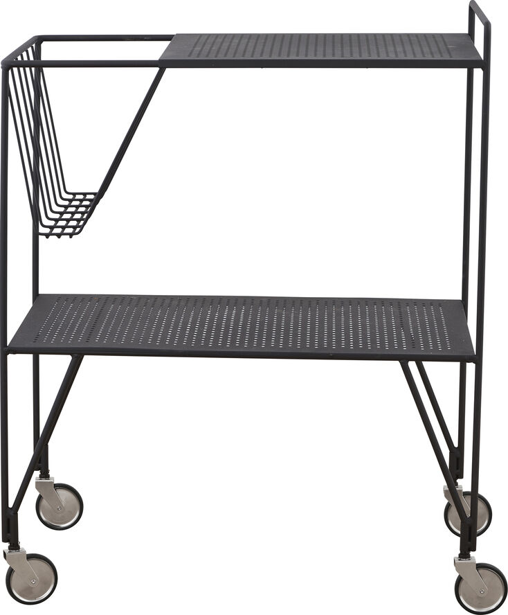 Rullebord, Use, Sort, l: 65 cm, b: 40 Pj0100 barbord
