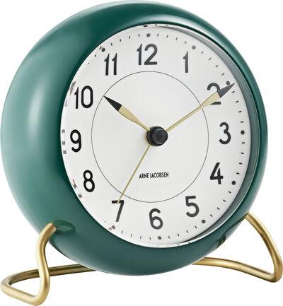 Station bordur grøn/hvid, Ø 11 cm, alarm