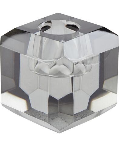 Lysestage 6x6x6 cm Grey