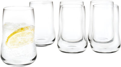 Future 6 stk. Vandglas klar 25 cl
