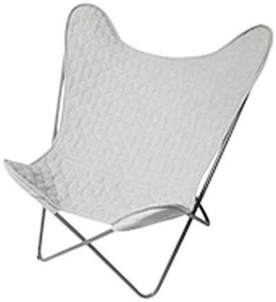 Sebra flagermusstol, grå