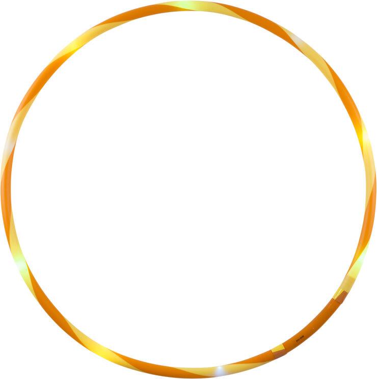 LED Hoop Fun, Ø 66 cm, orange/yellow