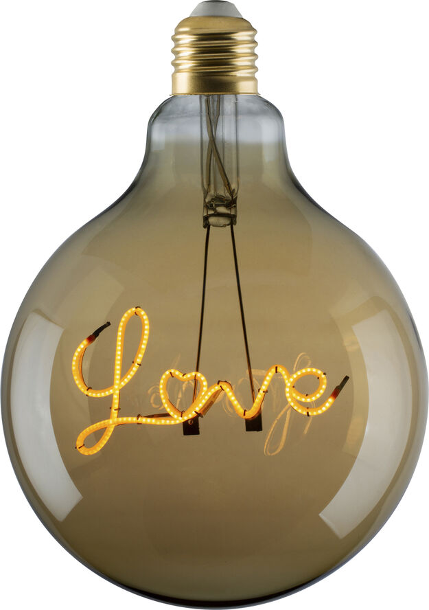 e3 LED Vintage G125 E27 Love-base up Golden, 1BX, spiral dæ
