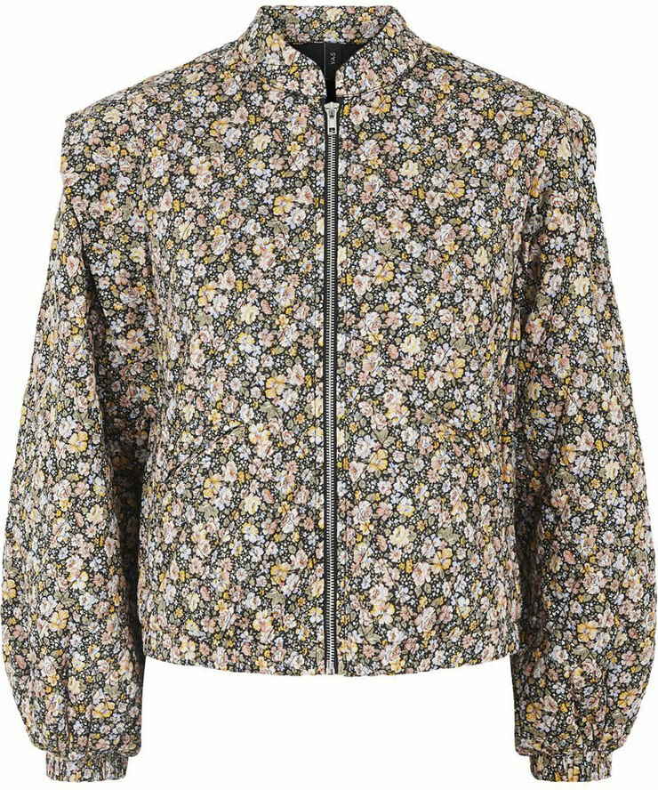 YASYETTA LS QUILTED BOMBER JACKET -