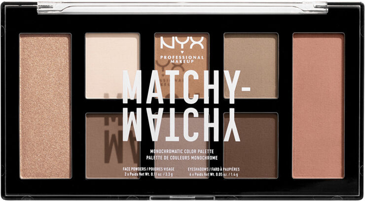 Matchy Matchy Monocromatic Palette - Taupe