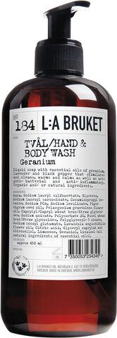 Hand & Body Wash Geranium450 ml