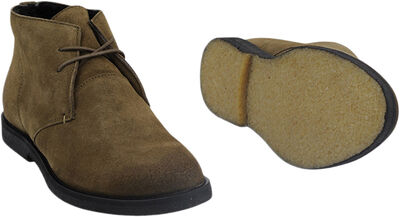 Kort støvle med snørre
