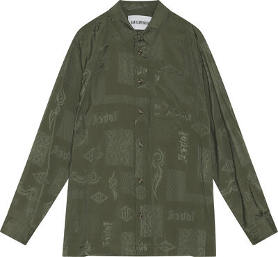 Boxy Shirt Long Sleeve