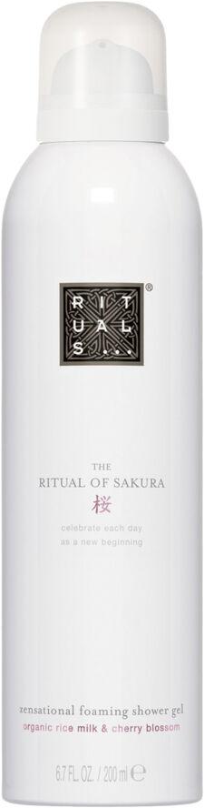 The Ritual of Sakura Foaming Shower Gel