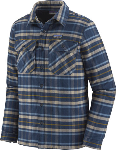 PAT M L/S Ins. Fjord Flannel, New Navy