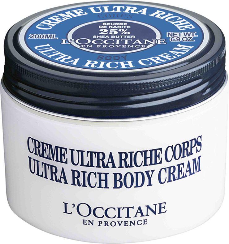 Shea Butter Ultra Rich Body Cream 200 ml.