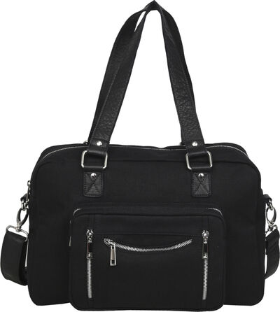 Mille recycled canvas black