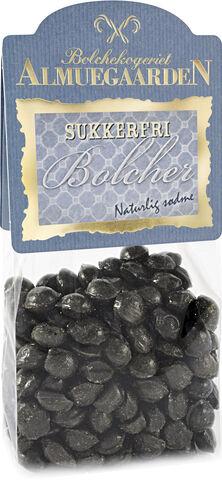 Sukkerfri Spejderhagl bolcher med smag af lakrids og salmiak