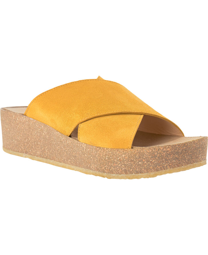 Plateau sandal m bld fodseng