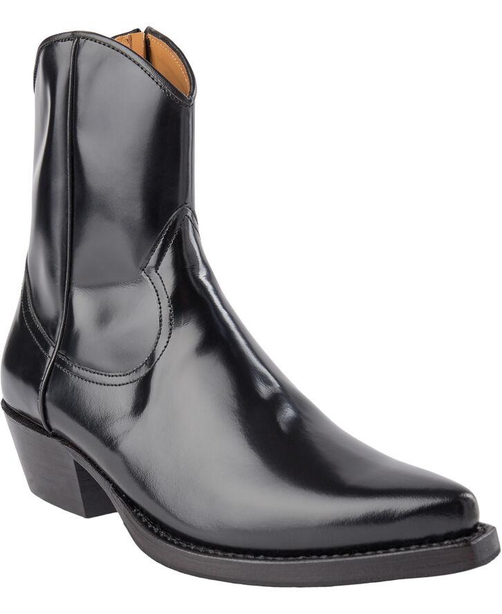 Western zip boot