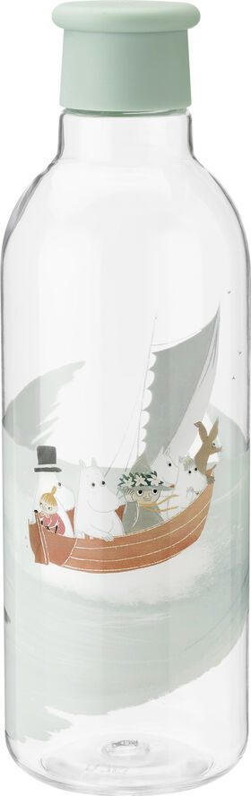 DRINK-IT vandflaske, 0,75 l. - dusty green - Moomin