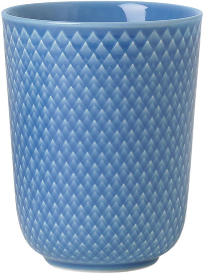 Rhombe Krus 33 cl blå porcelæn