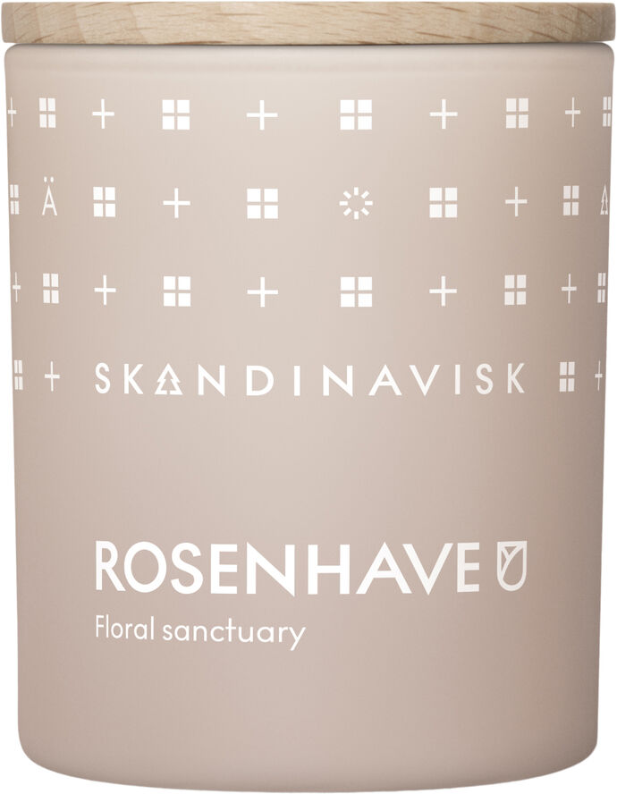 ROSENHAVE Scented Candle w Lid 65g
