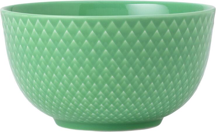 Rhombe Color Skål Ø11 cm grøn porcelæn