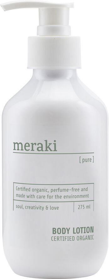 Body lotion, Pure