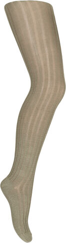 Cotton rib tights