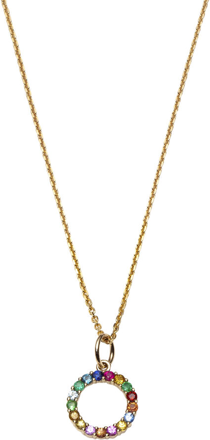 Partnership necklace VERMEIL (925 Sterling silver gold plated 2.5 micr