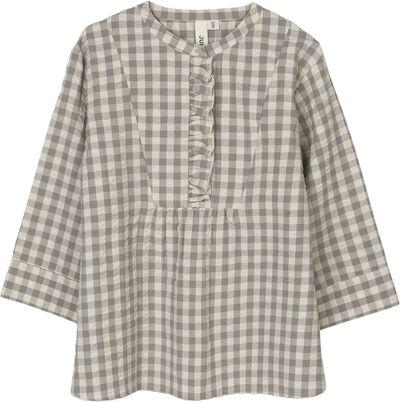 Bæk&Bølge Irene shirt grå/birk