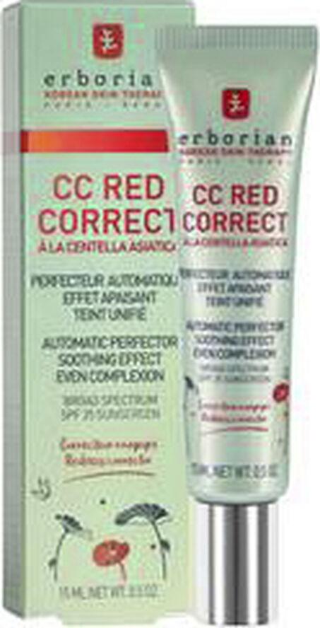 CC Red Correct - Rejsestørrelse