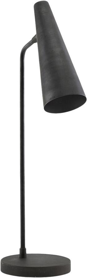 Bordlampe, Precise, Mat sort, G9 (LED), Max 6 W, 2 m ledning