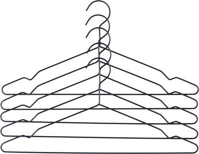 Bøjler Hang sæt á 5 sort